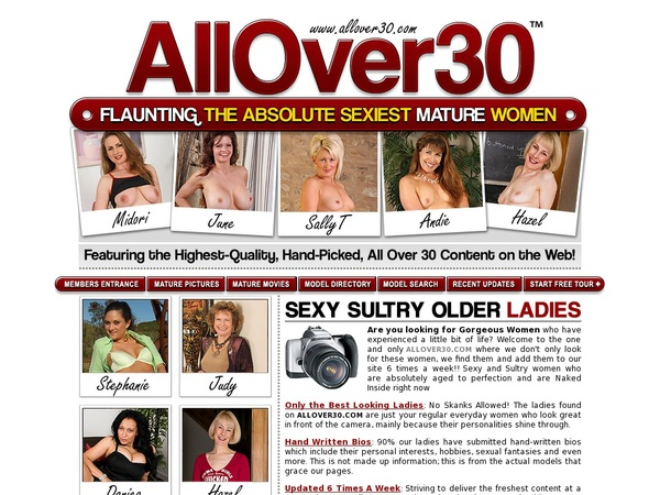 All Over 30 Original With Pay Pal