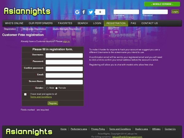 Asiannights.com With Gift Card