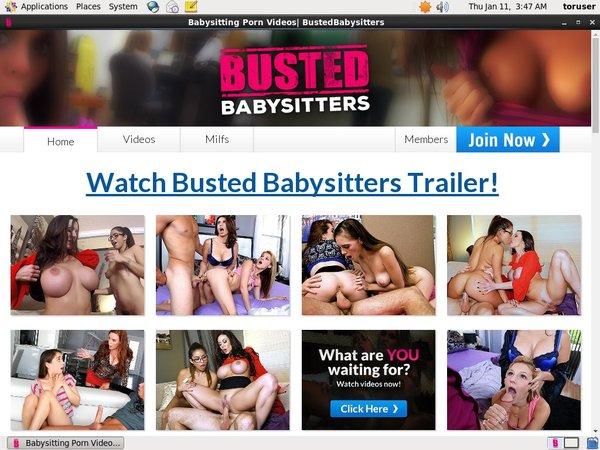 Free Bustedbabysitters.com Promo