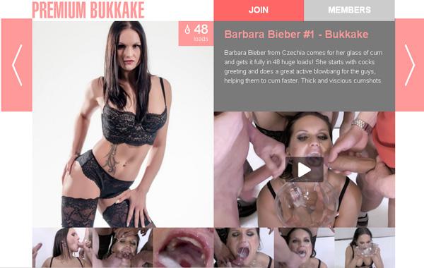 Free Premiumbukkake.com Porn