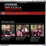Goddess Brianna Pay Site