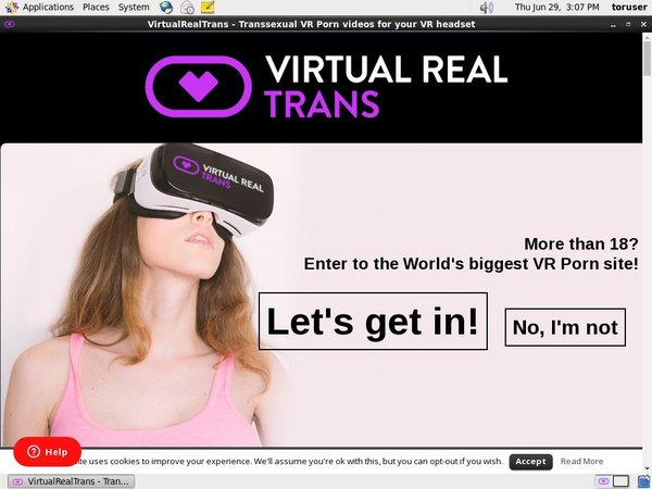 How To Get Virtual Real Trans For Free