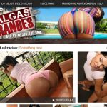 Nalgas Grandes With Credit Card