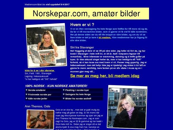 Norskepar Sign Up Link