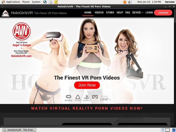 Paypal Holo Girls VR Com