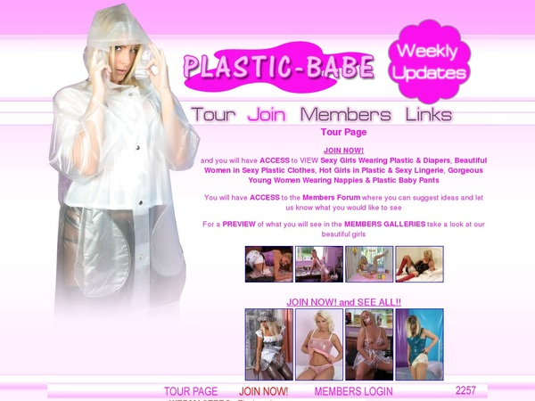 Plastic Babe Sign Up