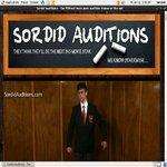 Sordid Auditions Billing