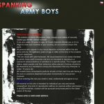 Spanking Army Boys Checkout Page