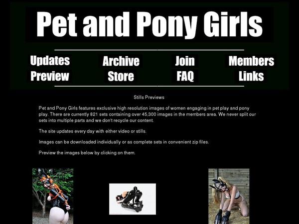 Watch Petandponygirls.com