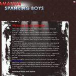 Amateur Spanking Boys Member