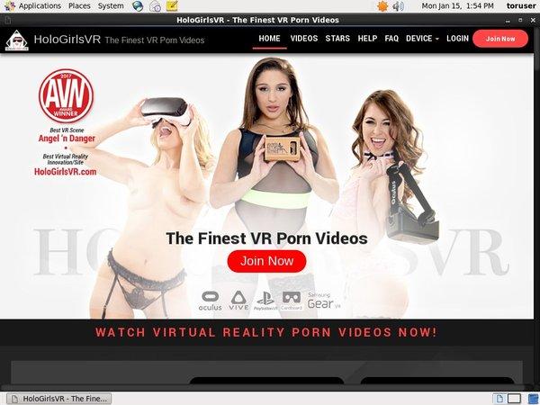 Holo Girls VR Free Pics