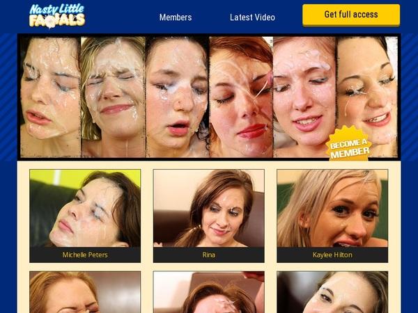 Nasty Little Facials Free Video