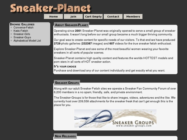 Register For Sneaker Planet