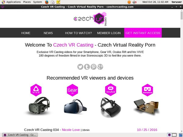 Czechvrcasting Free Ones
