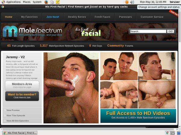 Full His First Facial Movies