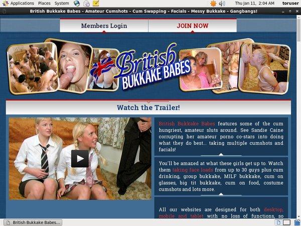 Britishbukkakebabes Movies