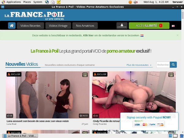 Lafranceapoil.net Premium Login