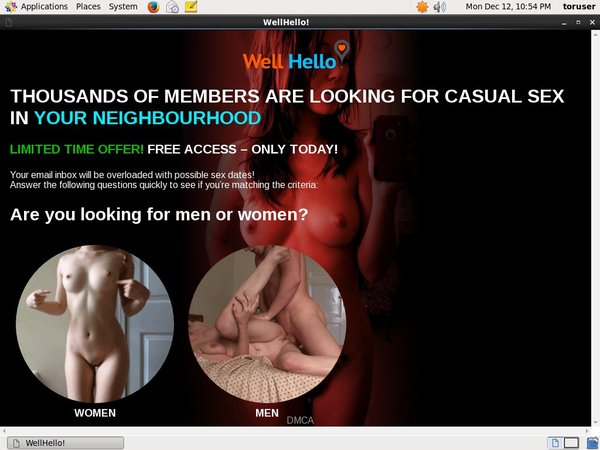 Wellhello Membership Account