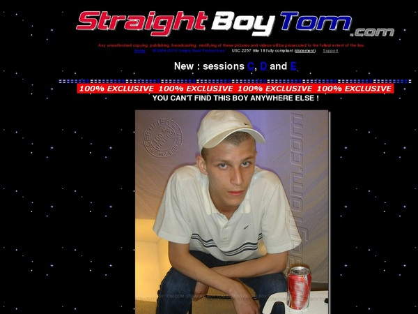 Straightboytom.com Code