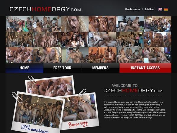 Czech Home Orgy Password Login