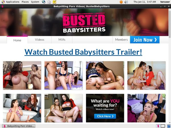 Free Account For Bustedbabysitters.com