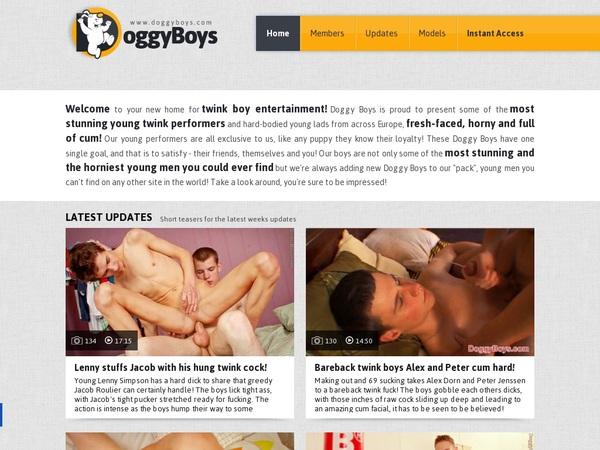 Doggy Boys Euro Direct Debit