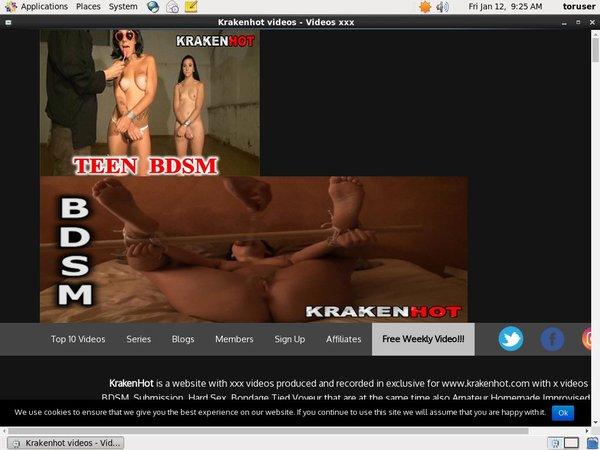 Krakenhot.com Premium Account Free