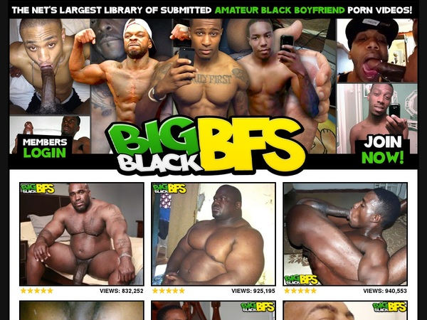 Discount On Big Black BFs