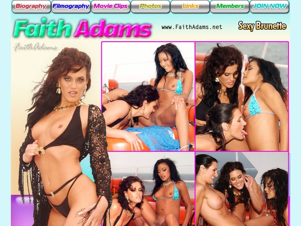 Faithadams.net Join With SMS