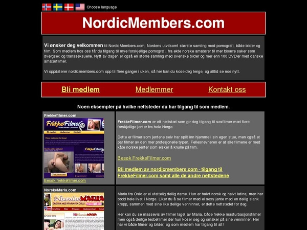 Nordicmembers.com Password And Login