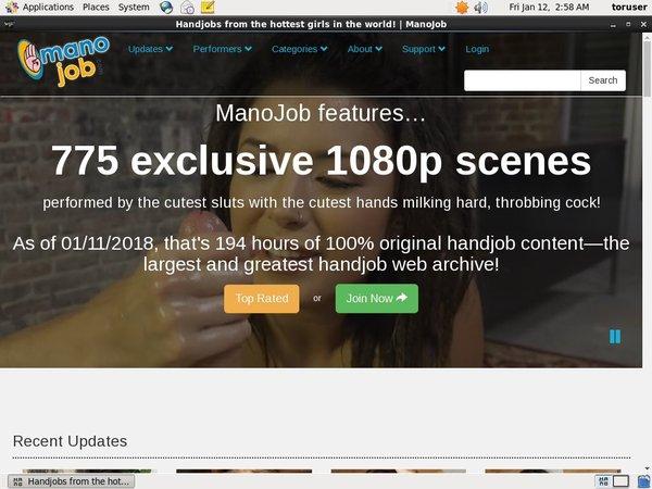 Mano Job With IBAN / BIC Code