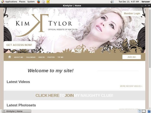 Kim Tylor Login And Password