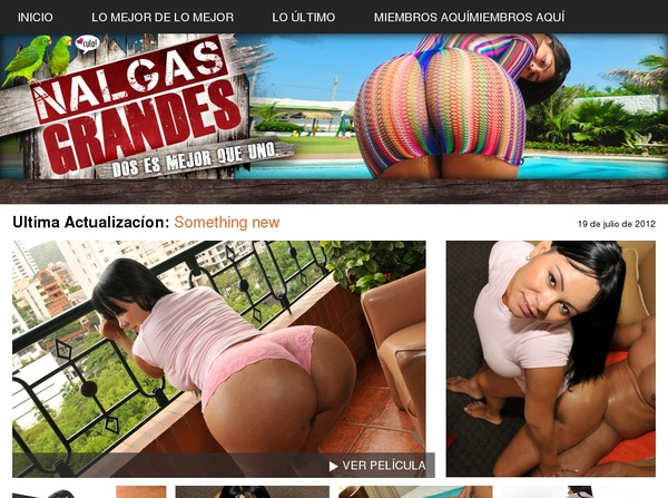 Nalgasgrandes.com For Tablet